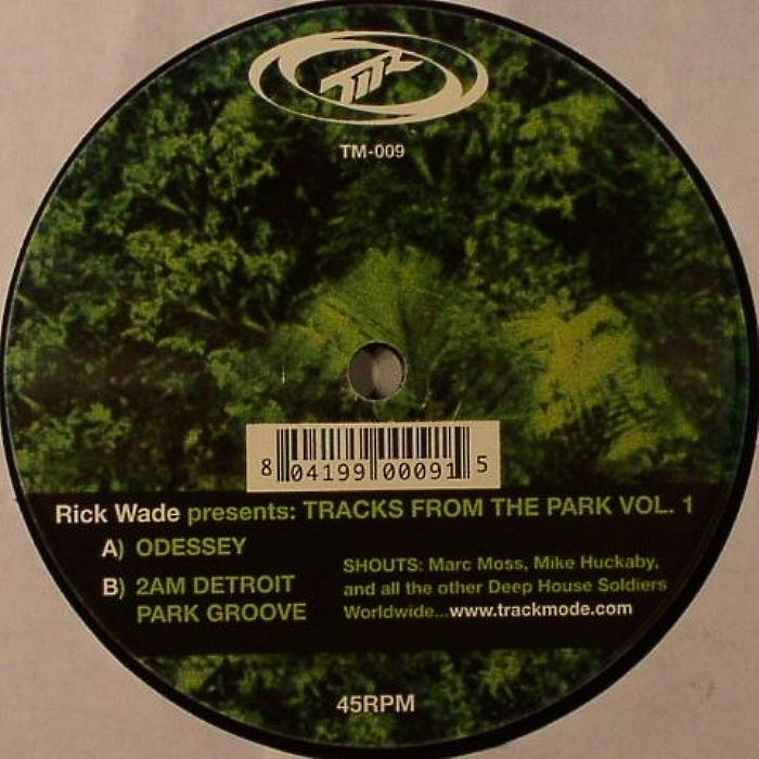 Rick wade tracks from the park vol 1 vinyl at juno records for Top deep house tracks of all time