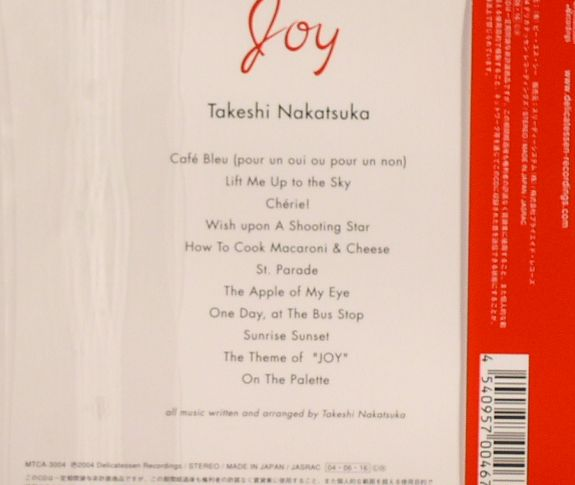 NAKATSUKA, Takeshi - Joy