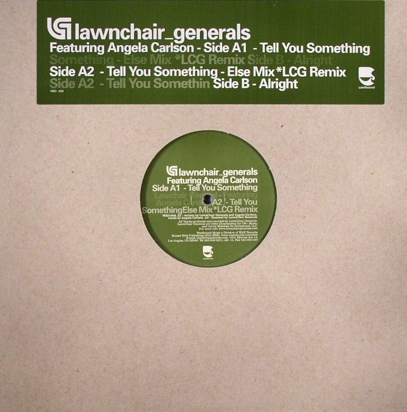LAWNCHAIR GENERALS feat ANGELA CARSON - Tell You Something