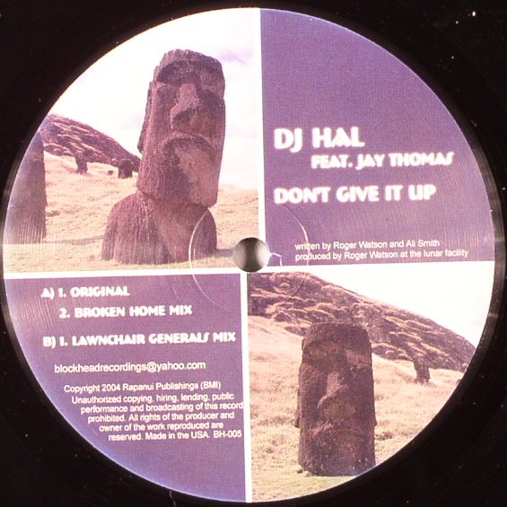 DJ HAL feat JAY THOMAS - Don't Give It Up