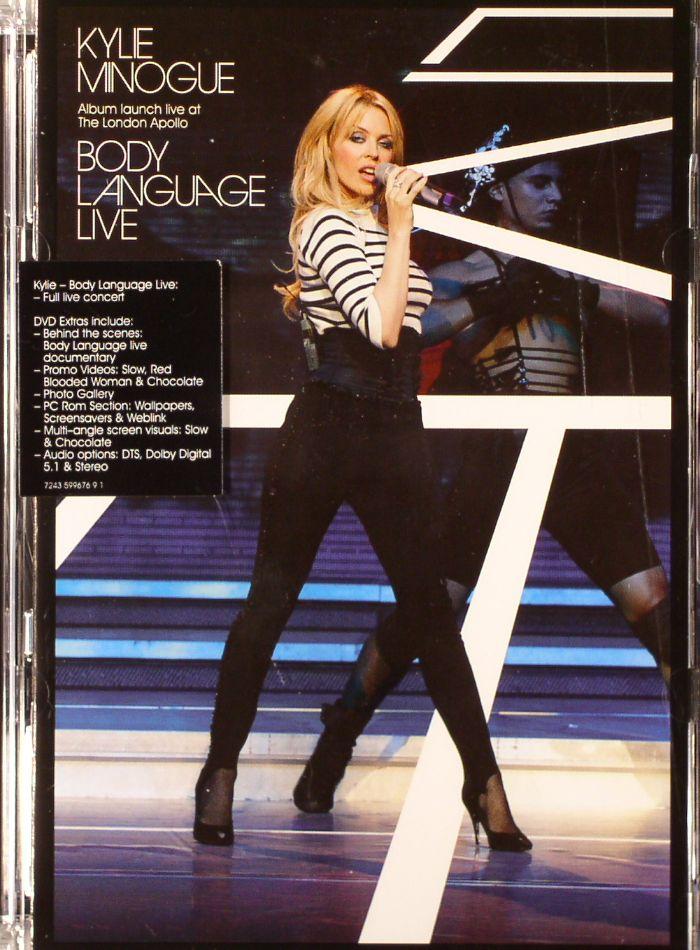 Kylie Minogue Body Language Live Vinyl At Juno Records