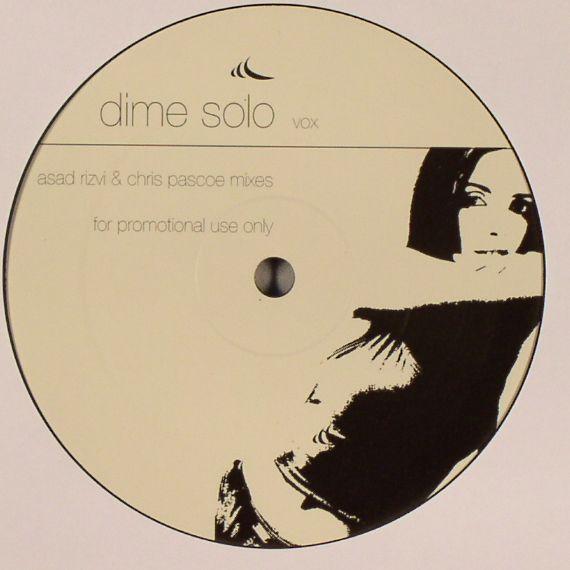 RIZVI, Asad & CHRIS PASCOE - Dime Solo