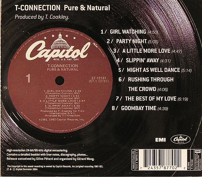 T CONNECTION - Pure & Natural
