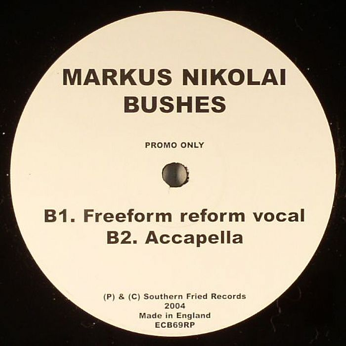 NIKOLAI, Markus - Bushes