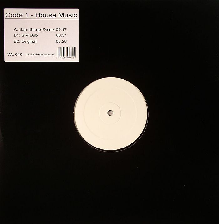 Code 1 house music vinyl at juno records for House music vinyl