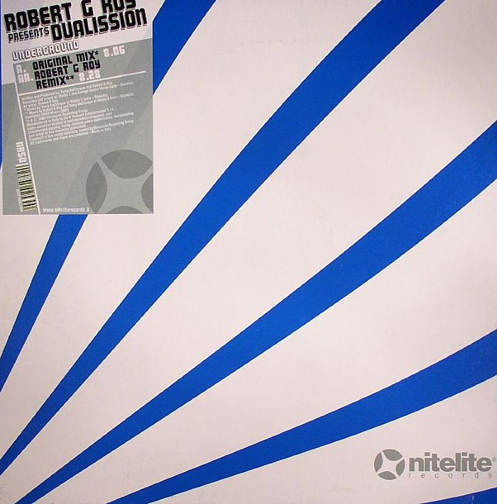 ROY, Robert G presents DUALISSION - Underground