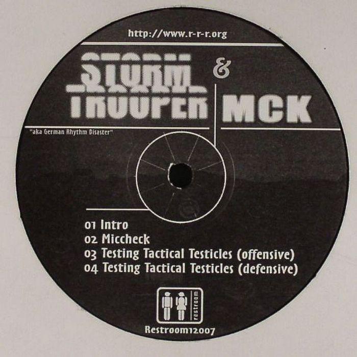 STORM TROOPER & MCK aka GERMAN RHYTHM DISASTER - Miccheck