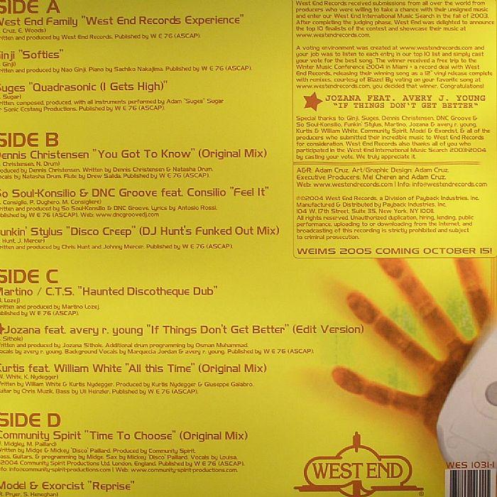 VARIOUS - International Music Search 2003/2004