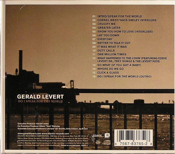 LEVERT, Gerald - Do I Speak For The World
