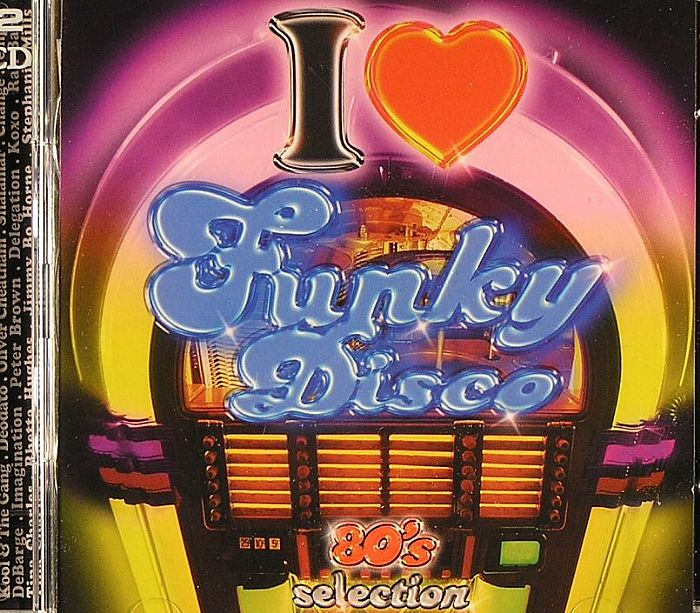 VARIOUS - I Love Funky Disco - 80's Selection