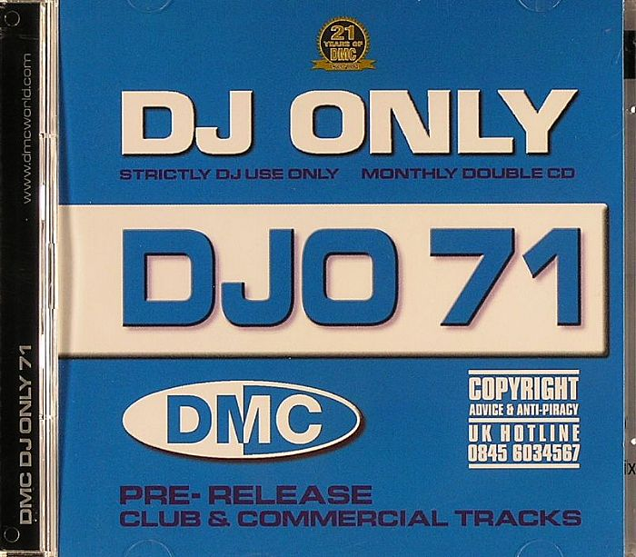 VARIOUS - DJO 71 (Pre-Release Club & Commercial Tracks)