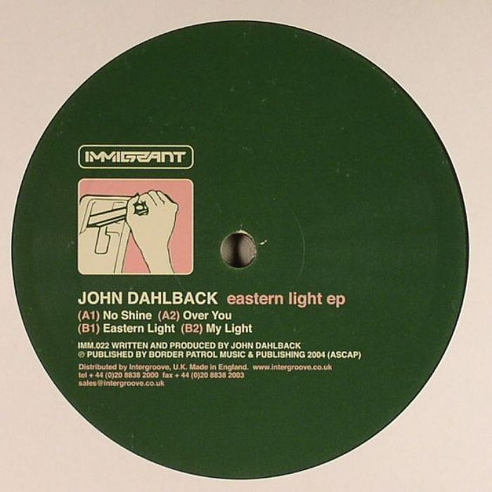 DAHLBACK, John - Eastern Light EP