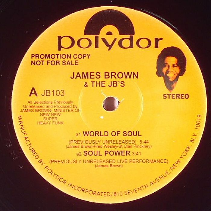 James BROWN & THE JB S World Of Soul Vinyl At Juno Records