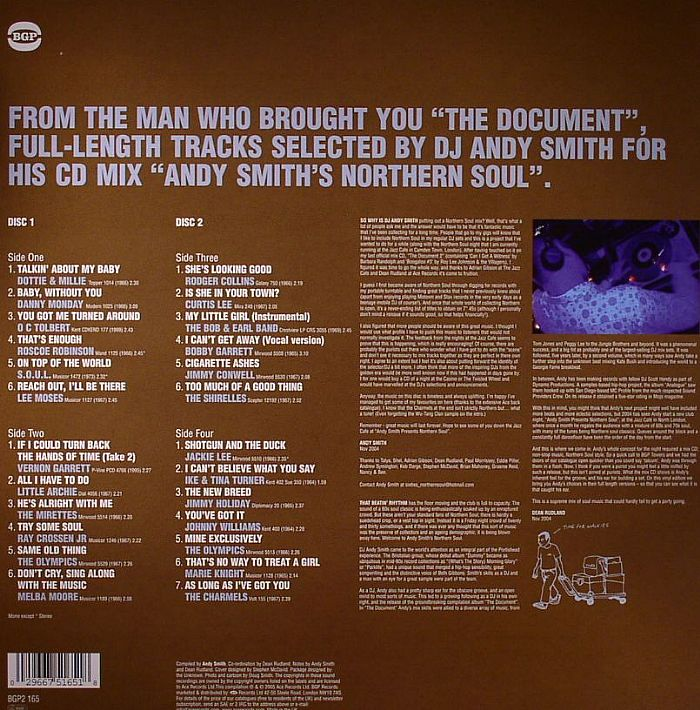 DJ ANDY SMITH/VARIOUS - Andy Smith's Northern Soul
