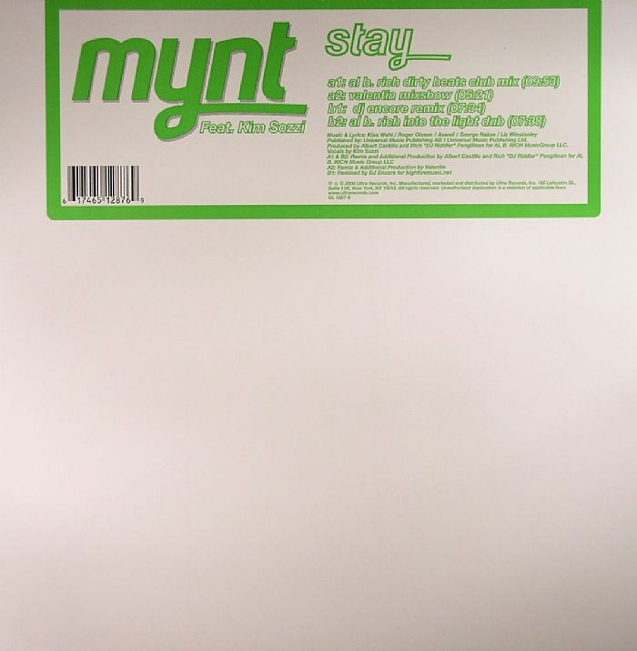 MYNT feat KIM SOZZI - Stay