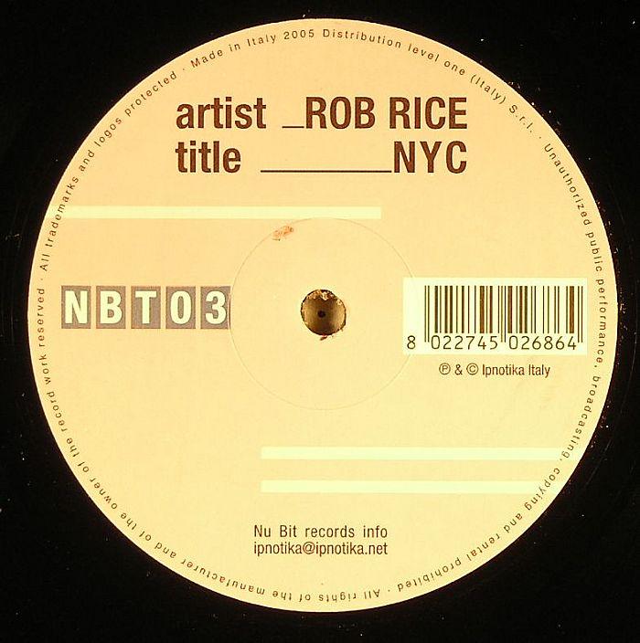 RICE, Rob - NYC