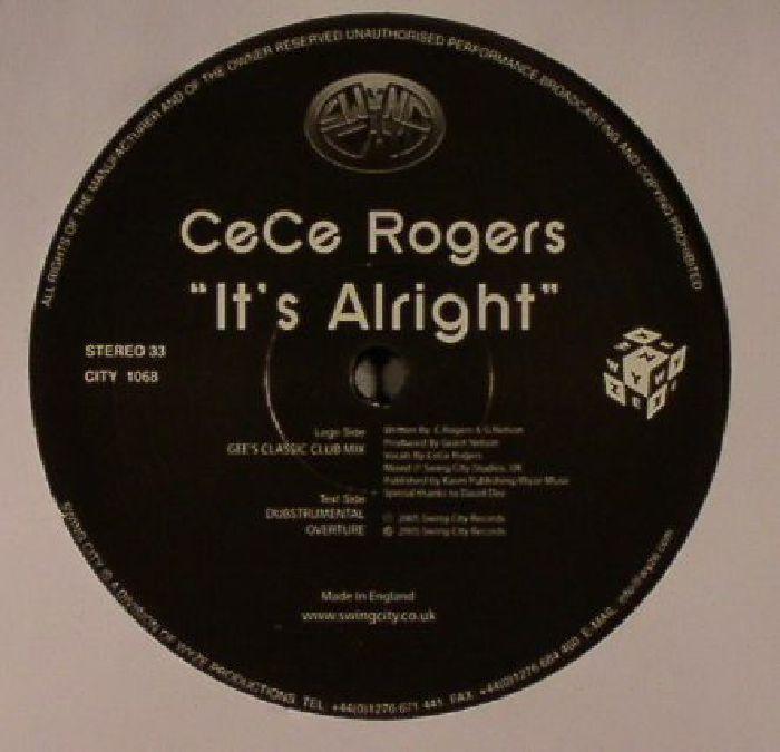 ROGERS, Cece - It's Alright (warehouse find, slight sleeve wear)