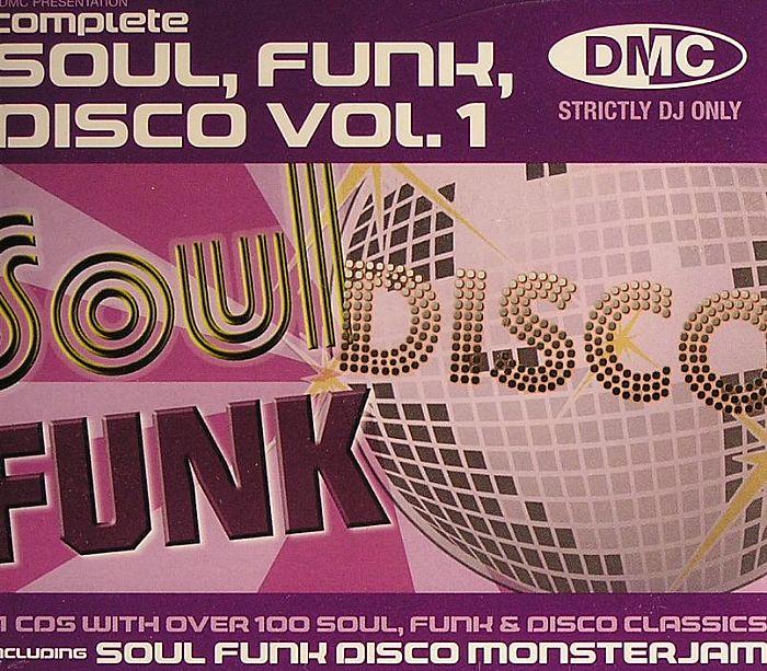 VARIOUS - Complete Soul Funk Disco Vol 1