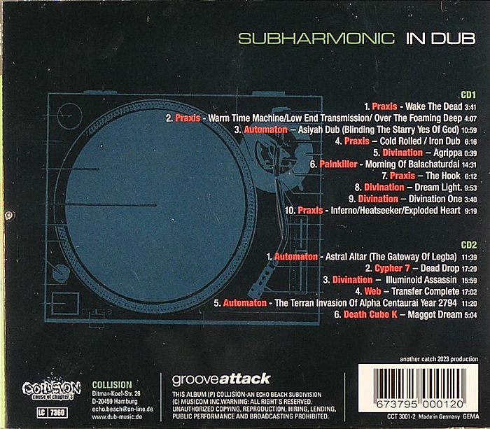 VARIOUS - Subharmonic In Dub