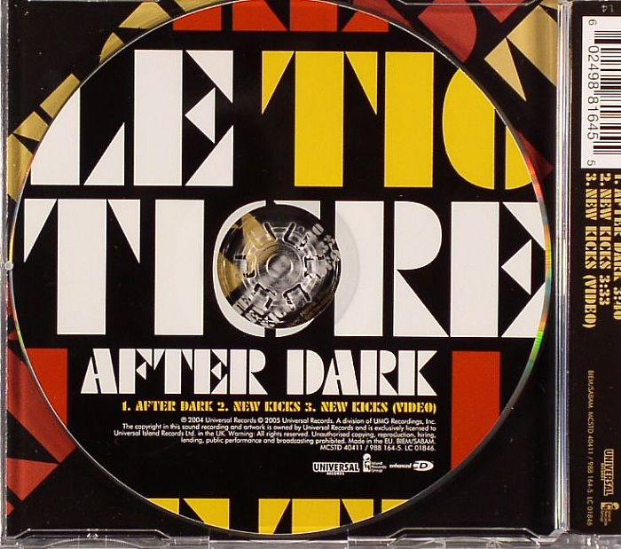 LE TIGRE - After Dark