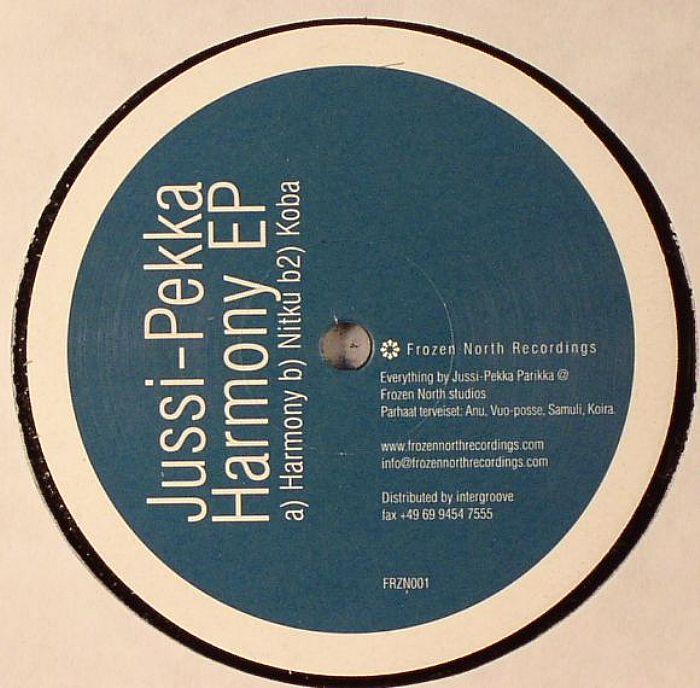 JUSSI PEKKA - Harmony EP