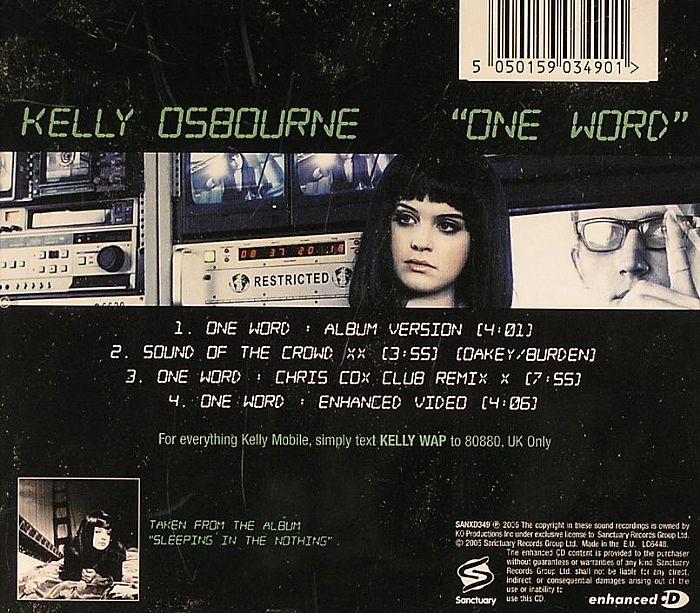 OSBOURNE, Kelly - One Word
