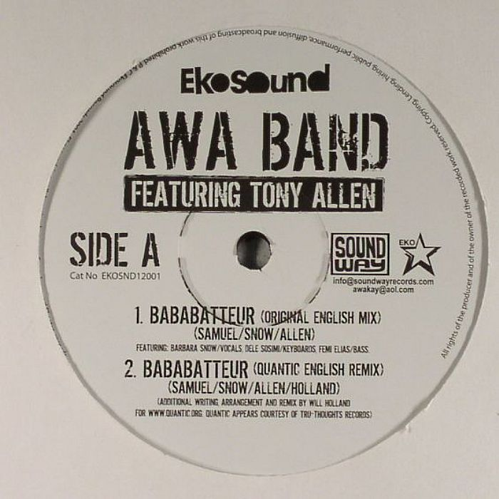 AWA BAND feat TONY ALLEN - Bababatteur