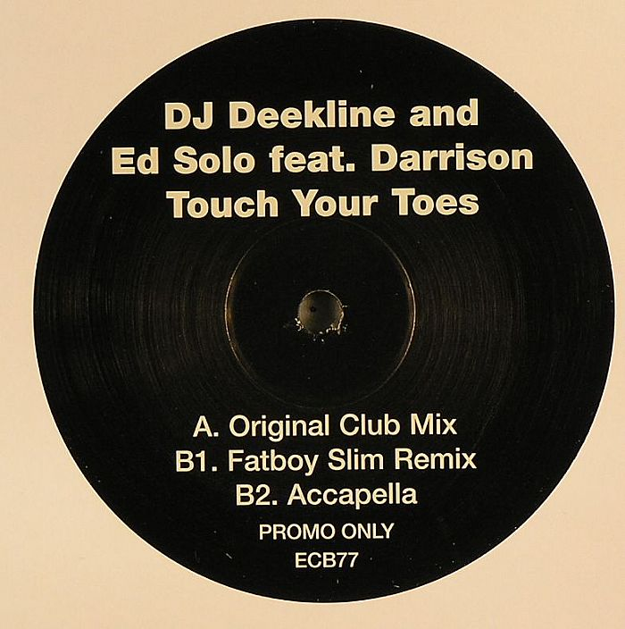 DJ DEEKLINE & ED SOLO feat DARRISON - Touch Your Toes