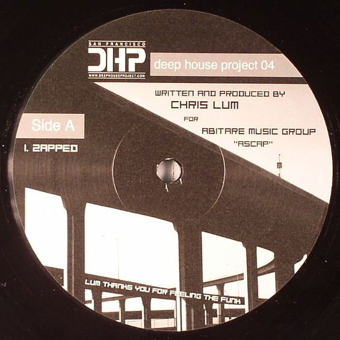Chris lum deep house project 04 vinyl at juno records for Juno deep house