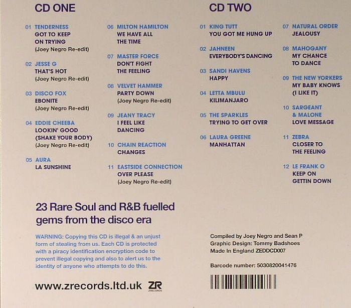 NEGRO, Joey/SEAN P/VARIOUS - The Soul Of Disco