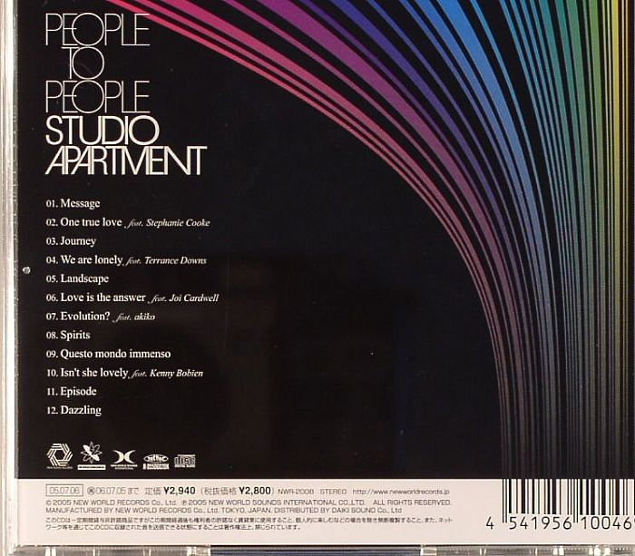 The Apartment People: STUDIO APARTMENT People To People Vinyl At Juno Records
