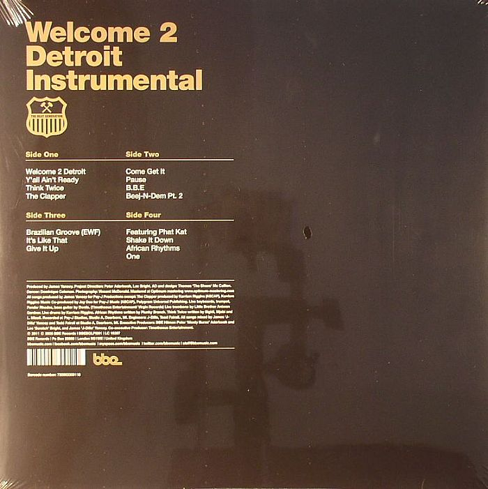 JAY DEE aka J DILLA - Welcome 2 Detroit: Instrumental