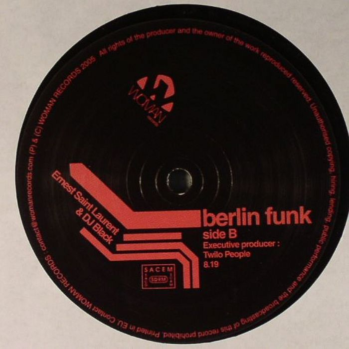 SAINT LAURENT, Ernest/DJ BLACK - Freaky Funk