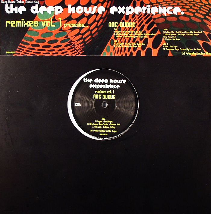 Various the deep house experience remixes vol 1 vinyl at for Juno deep house