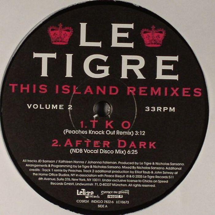 LE TIGRE - This Island Remixes Vol 2