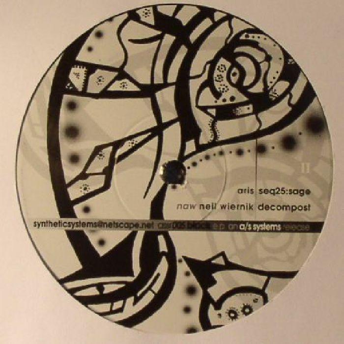 PASH & JAMESON/ADAM MARSHALL/ROBERT VEN - Black EP (warehousse find)