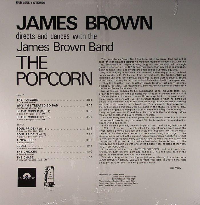 BROWN, James - The Popcorn