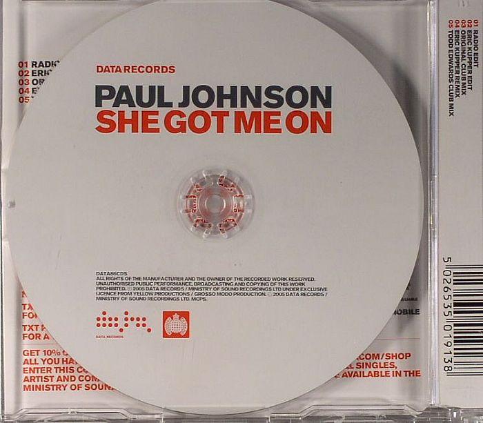 Paul Johnson - She Got Me On