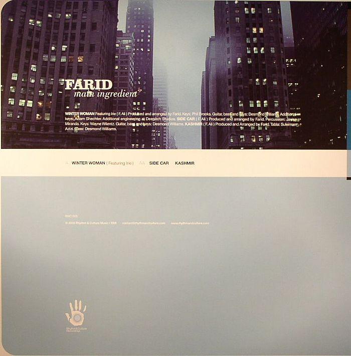 FARID - Main Ingredient