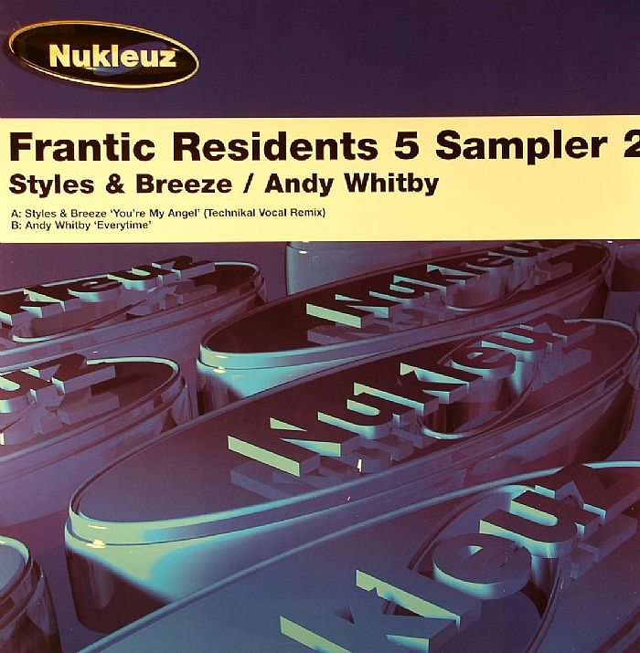 Styles Amp Breeze Andy Whitby Frantic Residents 5 Sampler