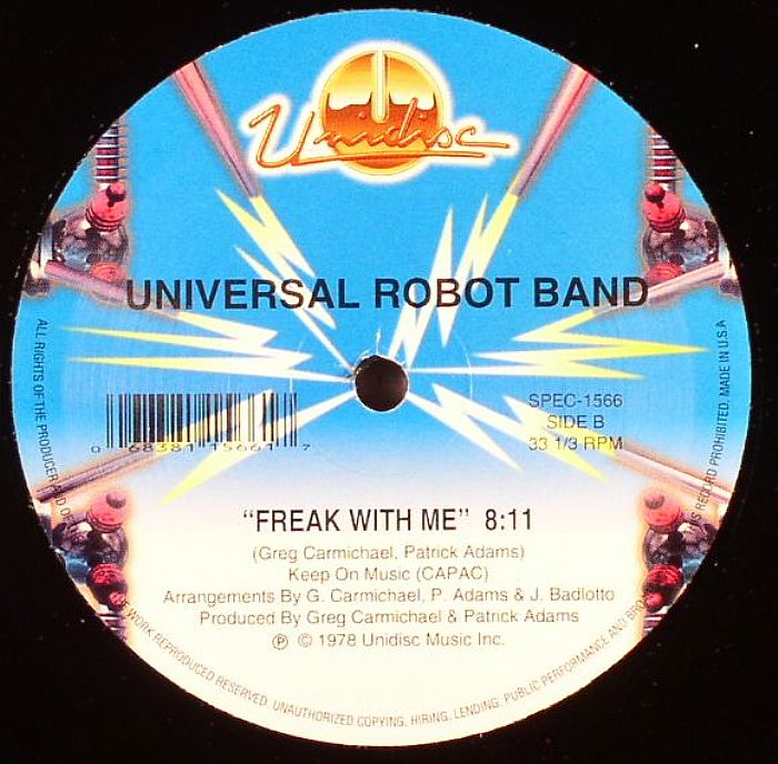 UNIVERSAL ROBOT BAND - Dance And Shake Your Tambourine