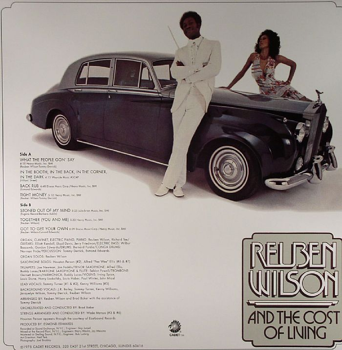 WILSON, Reuben & THE COST OF LIVING - Got To Get Your Own