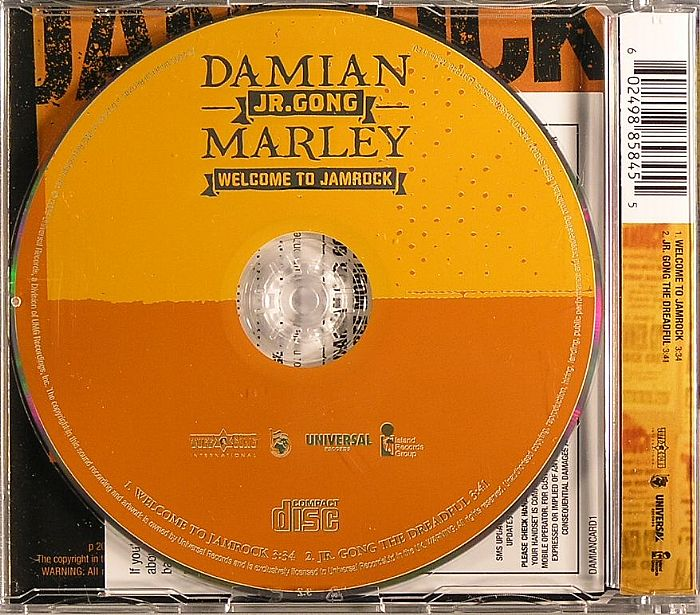 damian marley welcome to jamrock - 700×615