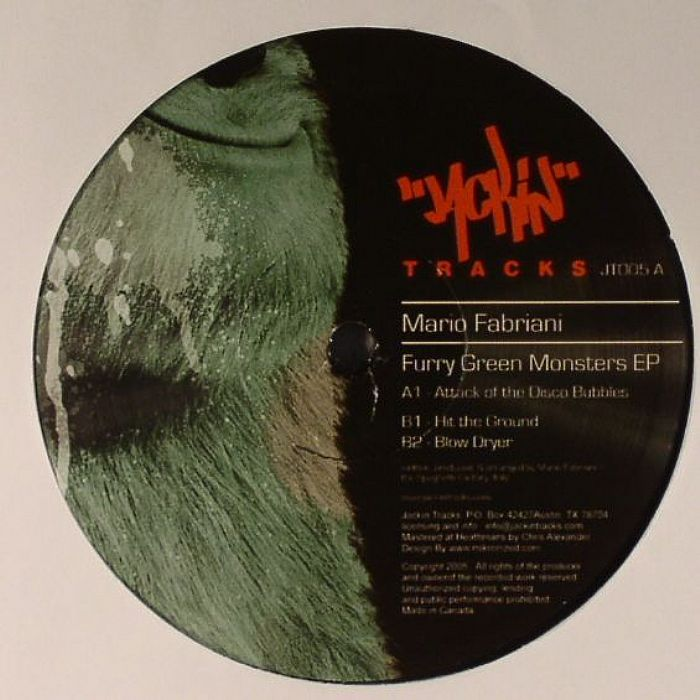 FABRIANI, Mario - Furry Green Monsters EP