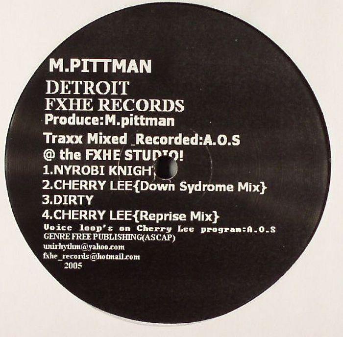 PITTMAN, Marcellus - M Pittman EP