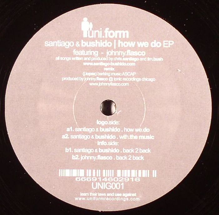 SANTIAGO/BUSHIDO featuring JONNY FIASCO - How We Do EP