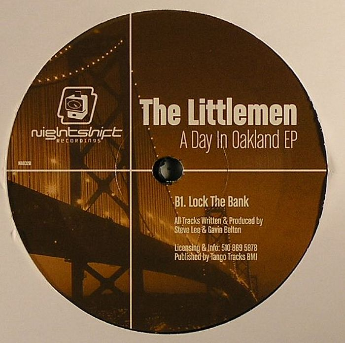 LITTLEMEN, The - A Day In Oakland EP