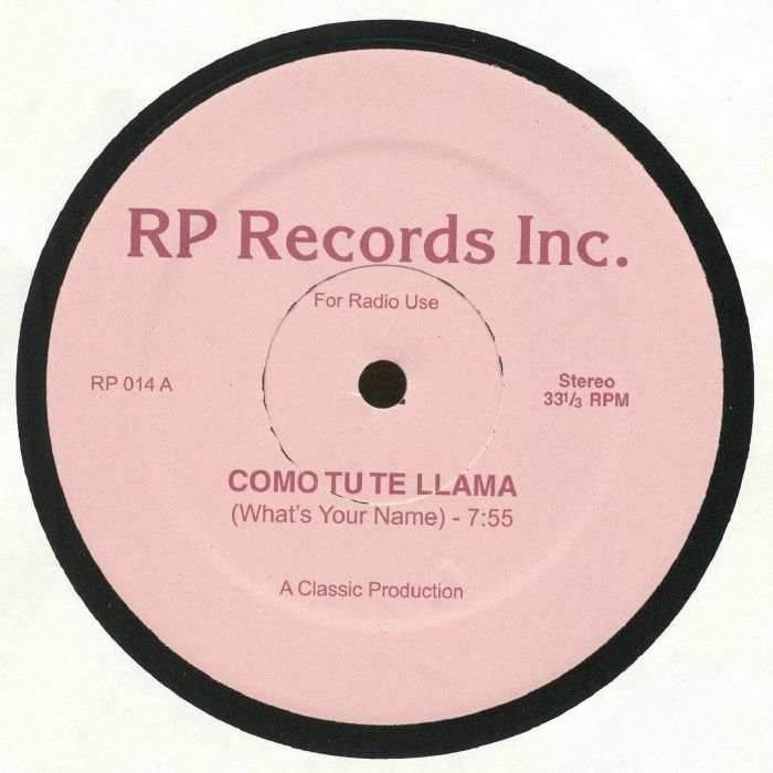 COMO TU TE LLAMA - Como Tu Te Llama (What's Your Name)