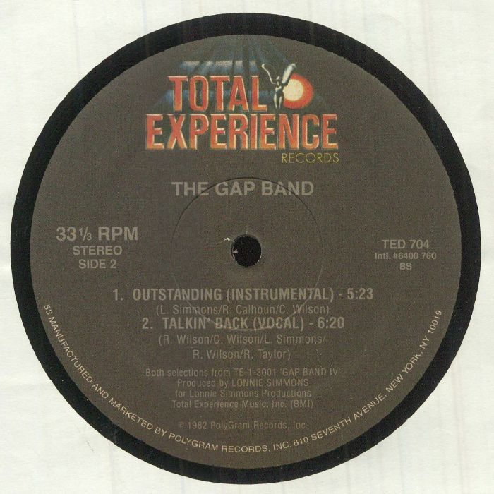 GAP BAND, The - Outstanding