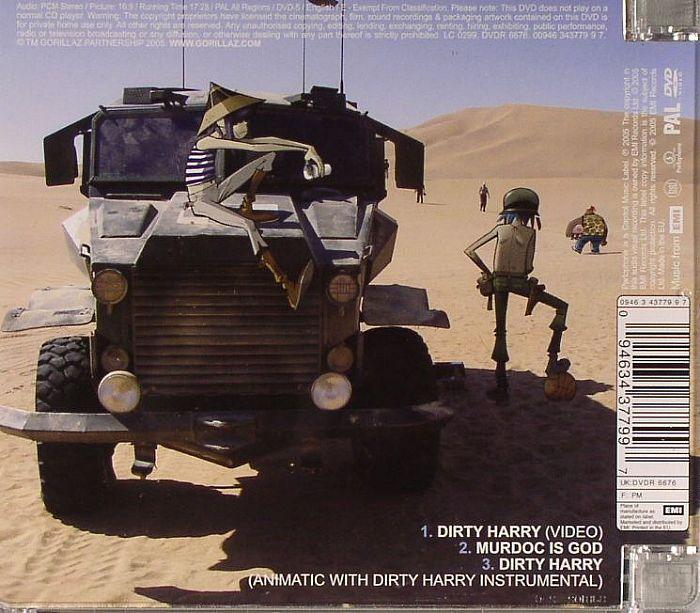 GORILLAZ Dirty Harry vinyl at Juno Records
